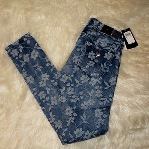 💐 Guess Jacquard Floral Skinny Jeans 💐